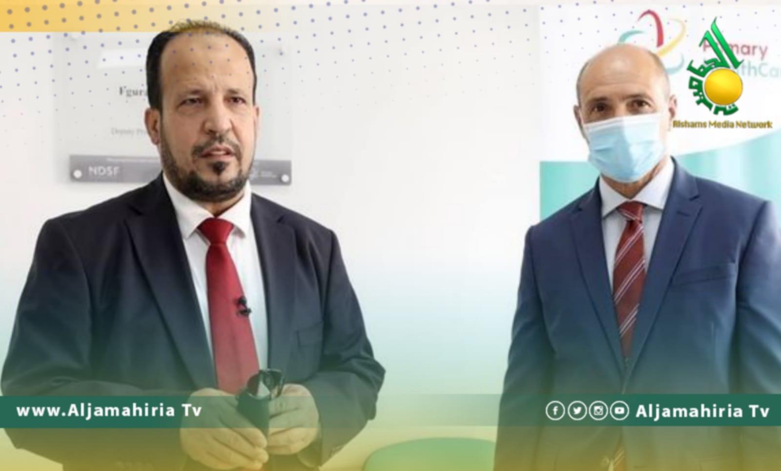 وزيرا الصحة الليبي والمالطي