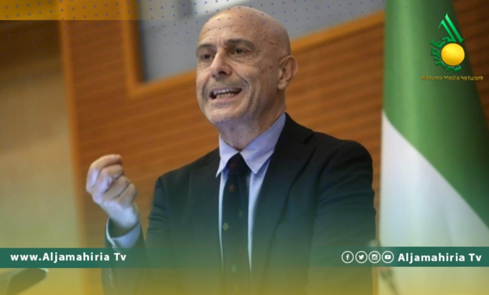 وزير الداخلية الايطالي منيتي